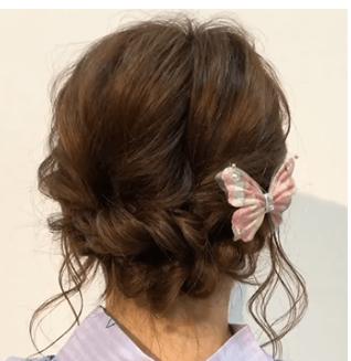 ライブ 浴衣 髪型
